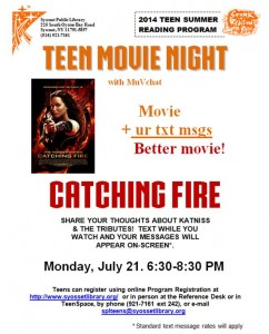 catching fire flyer